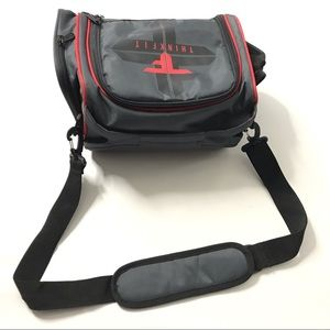 ThinkFit Insulated Lunch Box Lunch Box Black Red